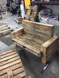 DIY old pallets