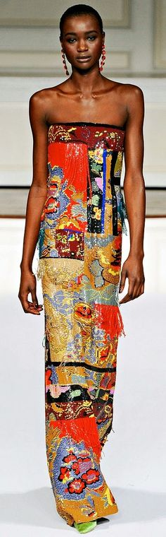 Oscar de la Renta Fall 2011 Ready-to-Wear Fashion Show