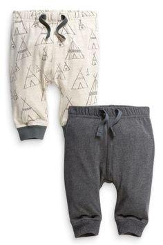 Acheter Lot de deux pantalons de joggings imprimé tipis (0-18 mois) disponible en ligne dès aujourd'hui sur Next : France