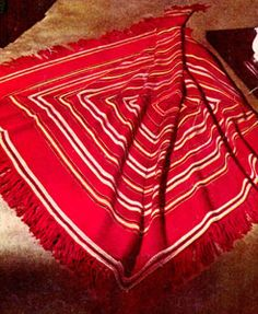 Square Dance Afghan Pattern