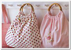 Resultado de imagen para bolsas manualidades