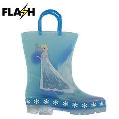 Disney Frozen Elsa vilkkuvat kumisaappaat
