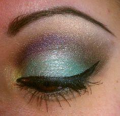 my colorful makeup :)