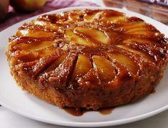 Apple Dessert Recipes, Fall Dessert Recipes, Fall Desserts, Apple Recipes, Cookie Recipes, Food Cakes, Upside Down Apple Cake, Caramel Apple Cheesecake Bars, Gourmet Caramel Apples