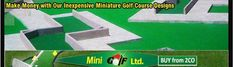 Miniature Golf, Putt Putt, Golf Courses, How To Make Money, How To Plan, Dolphins