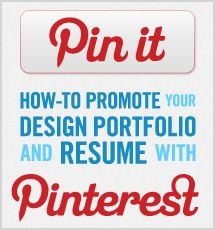 Featured on Onward Search's blog: how to create a digital resume on Pinterest