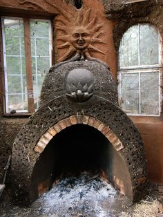 Rumford Fireplace @ Cob Cottage Co. Cob Building, Green Building, Building A House, Rumford Fireplace, Fireplaces, Architecture Design, Sustainable Architecture, Residential Architecture, Contemporary Architecture