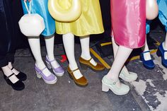Backstage at Marc by Marc Jacobs Spring/Summer 2015