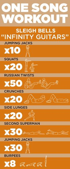 """one song #workout! """"Infinity Guitars"""" by Sleigh Bells #exercise #fitness"""
