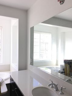 Eggshell Home BlogMaster Bathroom Tub Chantilly Lace Vs Antique - Eggshell paint in bathroom