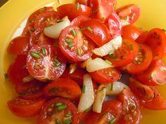 Czech Recipes, Ethnic Recipes, Caprese Salad, Bruschetta, Good Food, Low Carb, Gluten Free, Stuffed Peppers, Vegetables