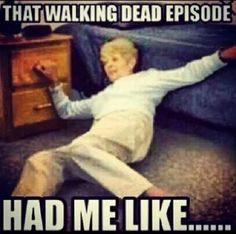 The Walking Dead - This is me when Daryl Dixon cried