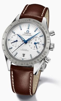 Omega Speedmaster '57 Co-Axial Chronograph white dial