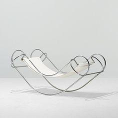 wockawock:  Symétrique Rocking Chair by Jean-Michel Sanejouand, 1971.(via Symétrique Rocking Chair   iainclaridge.net)