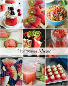 Watermelon Recipes for Summer