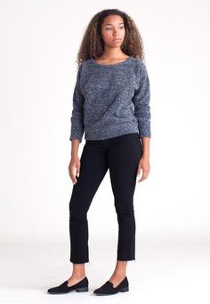 Pebble Knit Sweatshi