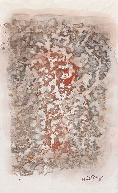 Mark Tobey 1890 Centerville/Wisconsin - 1976 Basel ohne Titel. Um 1965/70. Monotype over watercolors.