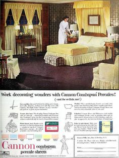 Cannon Percale Sheets, October 1952 | Flickr - Photo Sharing!