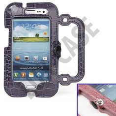 "Søkeresultat for: ""samsung galaxy deksler"" Samsung Galaxy S3, Leather Case, Purses, Leather Pencil Case, Handbags, Purses And Handbags, Wallet, Leather Pouch, Bags"
