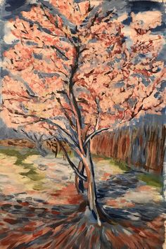 Blossom Trees, Vincent Van Gogh, Landscape Paintings, Inspired, Inspiration, Art, Attila, Biblical Inspiration, Art Background