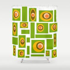 White Shower Curtain Mid Century Modern Retro Home Decor Mid Century Shower Curtain Geometric Shower Curtain Bathroom Decor Home Living, Mid Century Modern , Retro Shower Curtain Mid Century Modern Shower Curtain Retro, Bathroom Decor Retro Shower Curtain, Modern Shower Curtains, Bathroom Shower Curtains, Modern Retro, Midcentury Modern, White Shower, Pad Design, Retro Home Decor, Home And Living