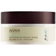 AHAVA DeadSea Salt Softening Butter Salt Scrub - oz A mix of Dead Sea Salt crystals, fragrant essential oils and concentrated Dead Sea minerals, this gentle scrub exfoliates dead cells and converts into a refreshing lotion for intense hydration. Dead Sea Salt Scrub, Sea Salt Scrubs, Coconut Oil Body Scrub, Dead Sea Cosmetics, Best Body Scrub, Dead Sea Minerals, Exfoliant, Bath And Body, Butter
