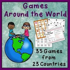 How fun would it be for kids to learn about different countries through learning games that kids all over the world play. This will help kids to relate to other students across the globe.
