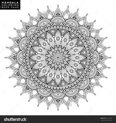 Find Flower Mandala Vintage Decorative Elements Oriental stock images in HD and millions of other royalty-free stock photos, illustrations and vectors in the Shutterstock collection. Mandala Book, Mandala Artwork, Mandala Drawing, Mandala Painting, Flower Mandala, Dot Painting, Flower Art, Drawing Flowers, Mandala Design