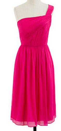 Bridesmaid Dresses in watermelon, fuschia, or hot pink! : wedding ...