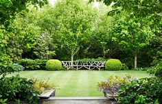Paul Bangay Paul Bangay — The Design Files Modern Landscape Design, Traditional Landscape, Landscape Plans, Country Landscaping, Modern Landscaping, Backyard Landscaping, Landscaping Ideas, Backyard Patio, Layout Design