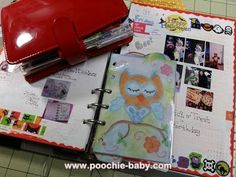 October 2014 Hobonichi Planner Review and Pocket Filofax Experiment
