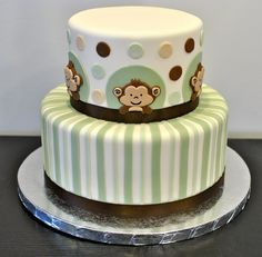 Monkey Baby Shower Cake | Decorate This!