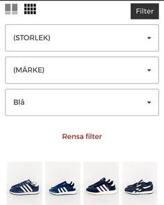 Nu kan ni äntligen filtrera på färg. ❤️💛💚💙💜 Ingen världsnyhet men stort för oss på footish då det är nått vi själva har saknat sedan vi öppnade på nätet. #sneakers #footish @footish