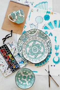 Gloriosa Dinnerware #AnthroFave
