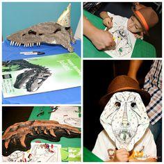 Quaintly Garcia: Julian's Dinosaur Party at the Natural History Museum