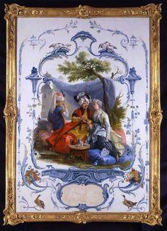 Attributed to Jean Baptiste Huet   The Turkish Lovers   89718 172. Европейская живопись, часть 1 - европейского искусства, часть 1
