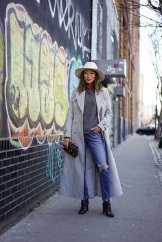 fashion-streetstyle:   (via New York Fashion Week... | Ecstasy Models