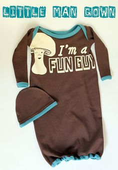 T-Shirt into baby gown tutorial