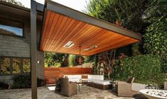 Modern Outdoor Pergola Designs #2