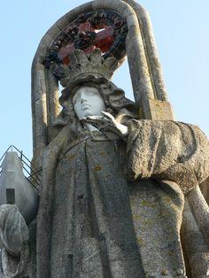 Virgen de la Roca - Virgin of the Rock, Baiona Vigo #Galicia #riasbaixas