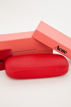 The box is dope. the color is a win. and typography and placement of text  Acne