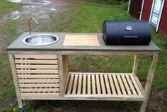 DIY Portable Barbecue