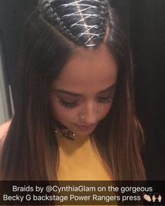 cool  hairstyle ~ Becky G