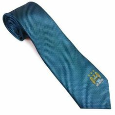 Manchester City FC Authentic EPL Players Tie RP by Manchester City F.C.. $12.70. Official Licensed Product. Quality guaranteed. Polyester Tie 142cm x 9cm. Brand new in packaging. Imported from the UK - Ships from USA. MANCHESTER CITY F.C. Polyester Tie * 142cm x 9cm Official Licensed Product