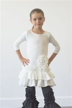 0bf37357cbad12 Pixie Girl Clothing Bouquet Top. Jana Johnson · children's ruffled outfits