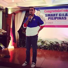 LA TENORIO speaks at Smart Gilas II party about the fighting heart of all the players. - @monisberto- #webstagram