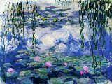 Waterlilies, 1916-19 von Claude Monet