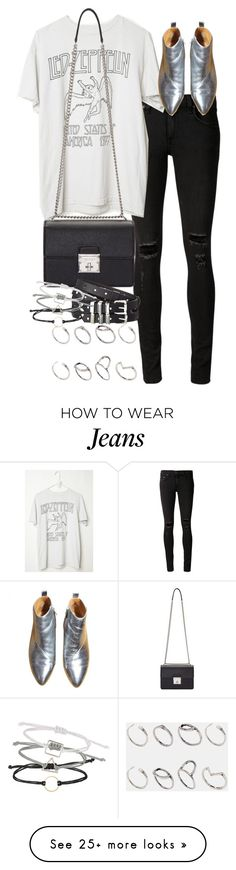 """""""Untitled #9385"""" by nikka-phillips on Polyvore featuring rag & bone/JEAN, Dolce&Gabbana, The Kooples, ASOS and Topshop"""
