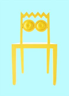 56thStudio deals with Visual Styling & Creative Matters   Caricature as Furniture