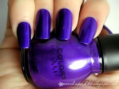 Let's Talk by Sinful Colors. The most amazing dark bluish purple ever. by araceli